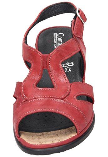 Red 710869 Damen Rot Comfortabel 4 Sandale 0C8wqzvxwT