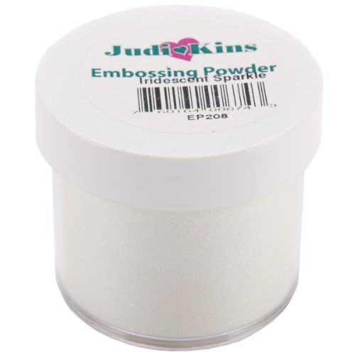 (Judikins EP2-08 Embossing Powder, 2-Ounce, Iridescent Sparkle)