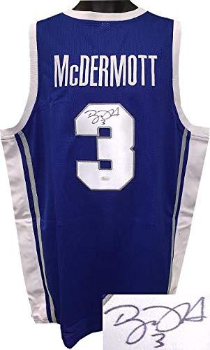 36476ffe312 Signed Doug McDermott Jersey - Blue Custom Stitched College Basketball  3  XL Witnessed Hologram -