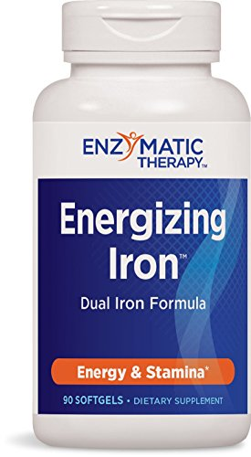 Enzymatic Therapy Energizing IronTM Dual Iron Formula, 90 Count (Iron Enzymatic Ultimate Therapy)