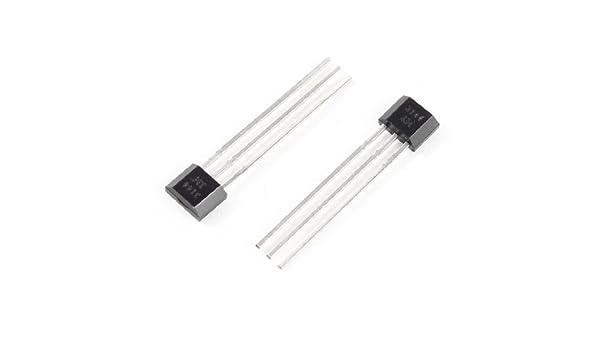 DealMux 2 PC 3144 del sensor de efecto Hall detector magnético 4.5-24V: Amazon.es: Industria, empresas y ciencia