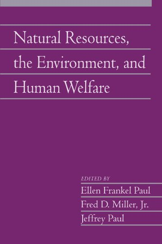 Natural Resources, the Environment, and Human Welfare: Volume 26, Part 2 (Social Philosophy and Policy)