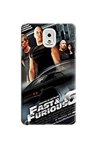 Durable lovely hard TPU Phone Protection Case fashionable Cool Fast and Furious Designed for Samsung Galaxy note3