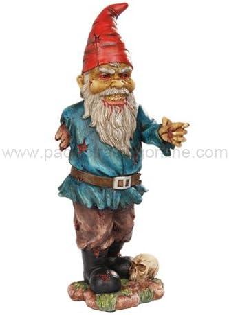 11,75 pulgadas Scary Zombie gnomo de jardín con un brazo y Calavera Estatua by PTC: Amazon.es: Hogar