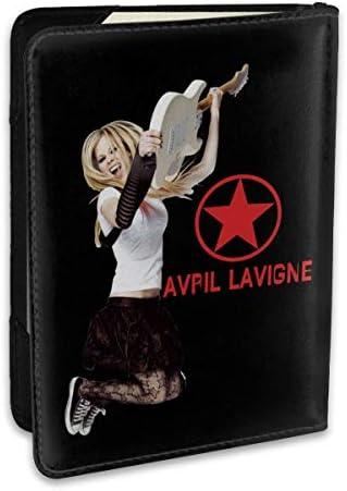 Avril Lavigne アヴリル・ラヴィーン パスポートケース パスポートカバー メンズ レディース パスポートバッグ ポーチ 収納カバー PUレザー 多機能収納ポケット 収納抜群 携帯便利 海外旅行 出張 クレジットカード 大容量