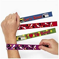 Fun Express 12 Bowling Slap Bracelets  sc 1 st  Gift Buying Tips & Bowling Gift Ideas - party supplies | The Perfect Gift
