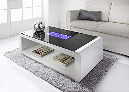 Infinity Led Coffee Table Living Room Furniture