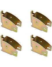 PeakTow PTT0033 E Track Wood Beam Holder Socket Fitting For Load Bar Shelves Custom Cabinet 4PK