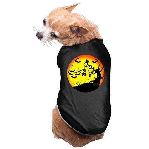 Halloween-pumpkin-tree Cute Dog Shirt -