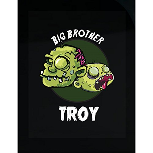 Prints Express Halloween Costume Troy Big Brother Funny Boys Personalized Gift - Sticker -