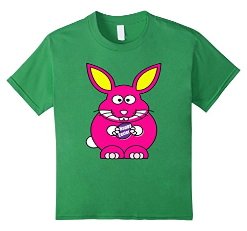 [Kids Group Family Photo Pink Easter Bunny Shirt Happy Easter 8 Grass] (Social Media Sites Costumes)