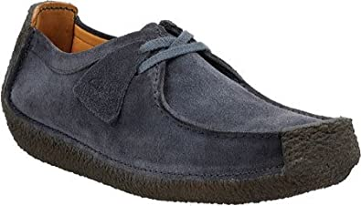5a4a8219409 Clarks Men's Natalie Shoe, navy suede, 13 Medium US