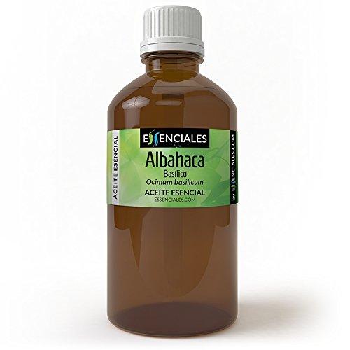 Albahaca basílico - Aceite esencial - 100% Puro - 100 ml