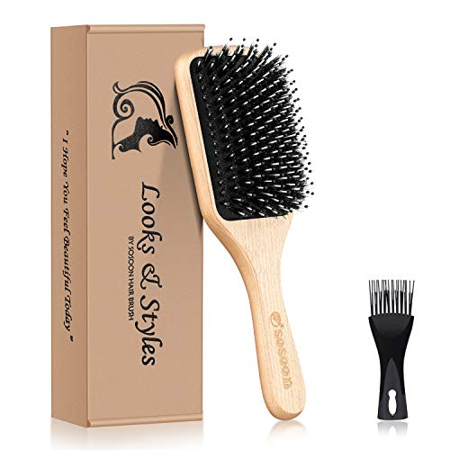 Sosoon Bristle Hairbrush Reducing Breakage