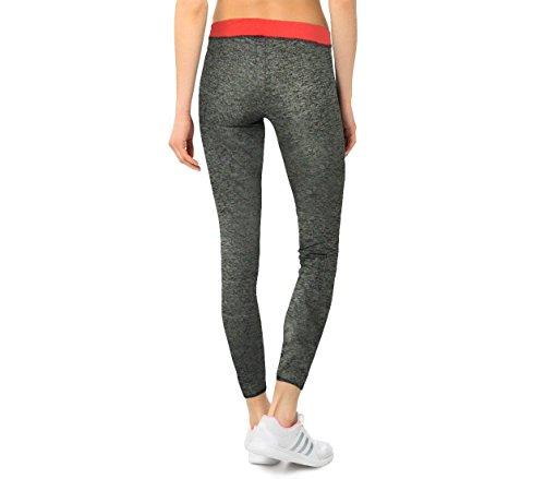 bdc06a51d304a KZ151 Leggings deportivos de mujer de tejido técnico hasta los tobillos -  Coral