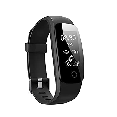 Fitness Tracker HR, Letsfit Activity Tracker Watch with Heart Rate Monitor, IP67 Water Resistant Pedometer, Calorie and Step Counter Watch for Android & iOS ¡