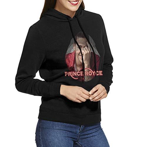 KennedyF Women's Prince Royce Hoodies Sweatshirt XL Black -
