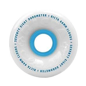 Ricta, Clouds White 78a Skateboard Wheel, 54 - mm
