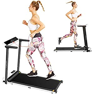Well-Being-Matters 41i6yKLUvfL._SS300_ Caroma Electric Folding Treadmill,2.5HP Fitness Motorized Cardio Training Running Jogging Machine Portable Compact…