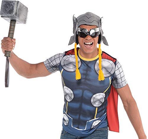 Suit Yourself Thor T-Shirt with Cape for Adults,