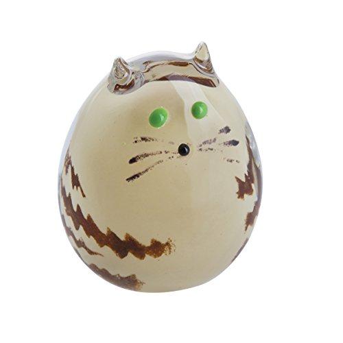 Caithness Glass U17066 Purrfect Tabby Kitten Cat Paperweight by Caithness Glass