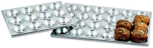 Browne (1612A) 12 Cup Muffin/Cupcake Pan by Browne Foodservice