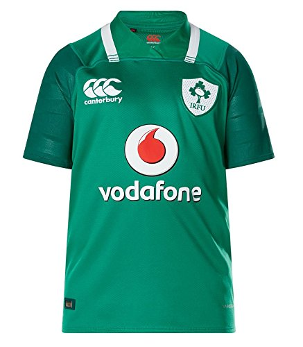 Jersey Home Youth Rugby - Canterbury Ireland Rugby Vapodri+ SS Kids Home Pro Jersey 2017
