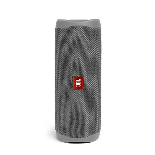 JBL Flip 5 Portable Waterproof Bluetooth Speaker with Hybrid Carrying Case (Gray)