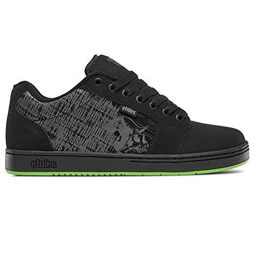 Etnies Men Metal Mulisha Barge XL Black Lime Shoes Size