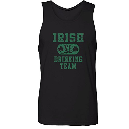 [Amazing Items Irish XL Drinking Team Costume For St. Patrick's Day Men's Tank Top, 2X-Large, Black] (Top Ideas For Halloween Costumes 2016)