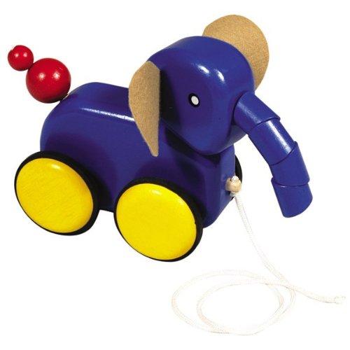 Guidecraft Pull-Along Animal Friends - Elephant