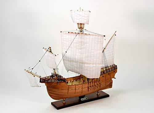 (The Matthew Handmade Wooden Tall Ship Model 32