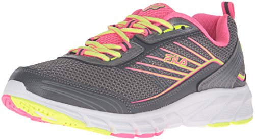 cheap sale top quality Fila Women's Forward 3 Running Shoe Dark Silver/Knockout Pink/Safety Yellow for nice for sale sale from china with mastercard cheap online O4HIhhqhR
