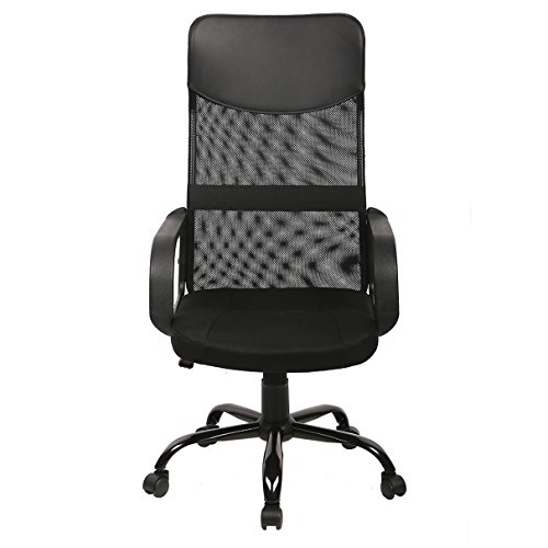 new black modern fabric mesh high back office task chair computer desk seat o25 office task chairs. Black Bedroom Furniture Sets. Home Design Ideas