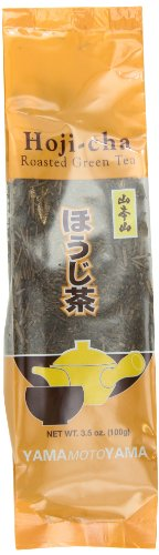 Yamamotoyama Loose Hoji-Cha Roasted Green Tea, 3.5-Ounce Bags (Pack of 6) ()