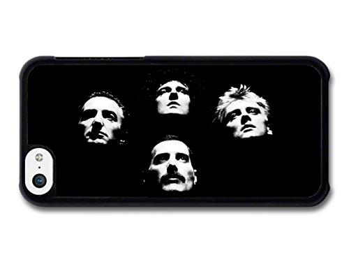 Queen Band Heads Freddie Mercury coque pour iPhone 5C