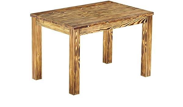 Brasil Muebles Mesa de Comedor Rio Clásico, 130 x 80 cm Quemado ...