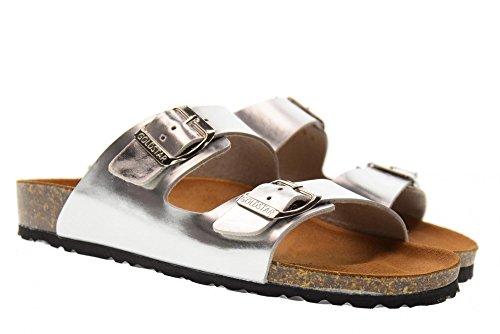 Silver 1800RY Sandales Argent Chaussures Pantoufles GoldStar Femme xwISXqnB