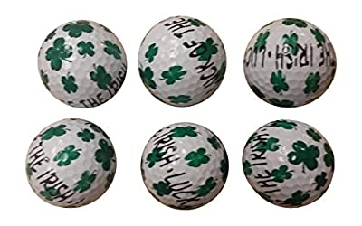 St. Patrick's Irish Golf Balls (6 Pack)