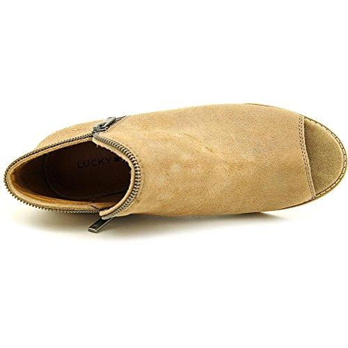 Lucky Brand Jakobie Pelle Scarpa con la Zeppa