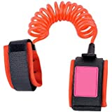 ABOGALE Baby Child Anti Lost Safety Velcro Wrist Link (Orange)