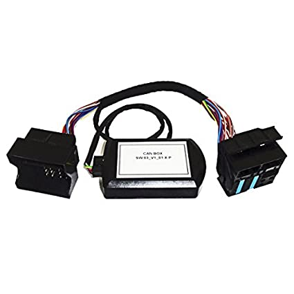 VW RNS-510 / RCD-510 Upgrade CAN Box Adapter for Battery Drain Issue
