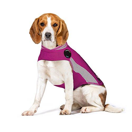 - ThunderShirt Polo Dog Anxiety Jacket, Pink, Medium