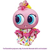 Distroller Ksimerito Candie Dots Pink / White Casual Outfit w/ Pink Shiny Hair Bow - Nerlie Neonate Baby Doll Accesories