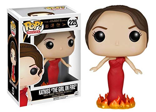 Cabezon Katniss Everdeen 9 cm Los juegos del hambre Modelo the girl on fire Linea POP! Movies Funko