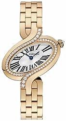 Delices De Diamond 18k Rose Gold Watch