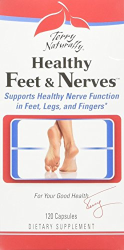Terry Naturally/Europharma Healthy Feet & Nerves -120 Capsules -2 Pack