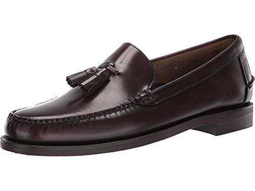 (Sebago Men's Classic Will Brown/Burgundy 10 M US)
