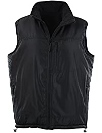 Mens Basic Padded Windbreaker Puffer Vests (Many Styles To Choose From)