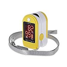 Movement Digital Fingertip Pulse Oximeter Health Monitor